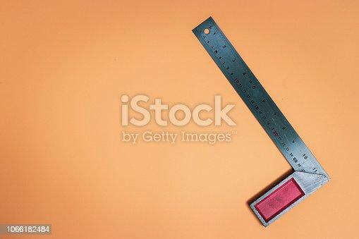 Construction equipment for straight line measurement.