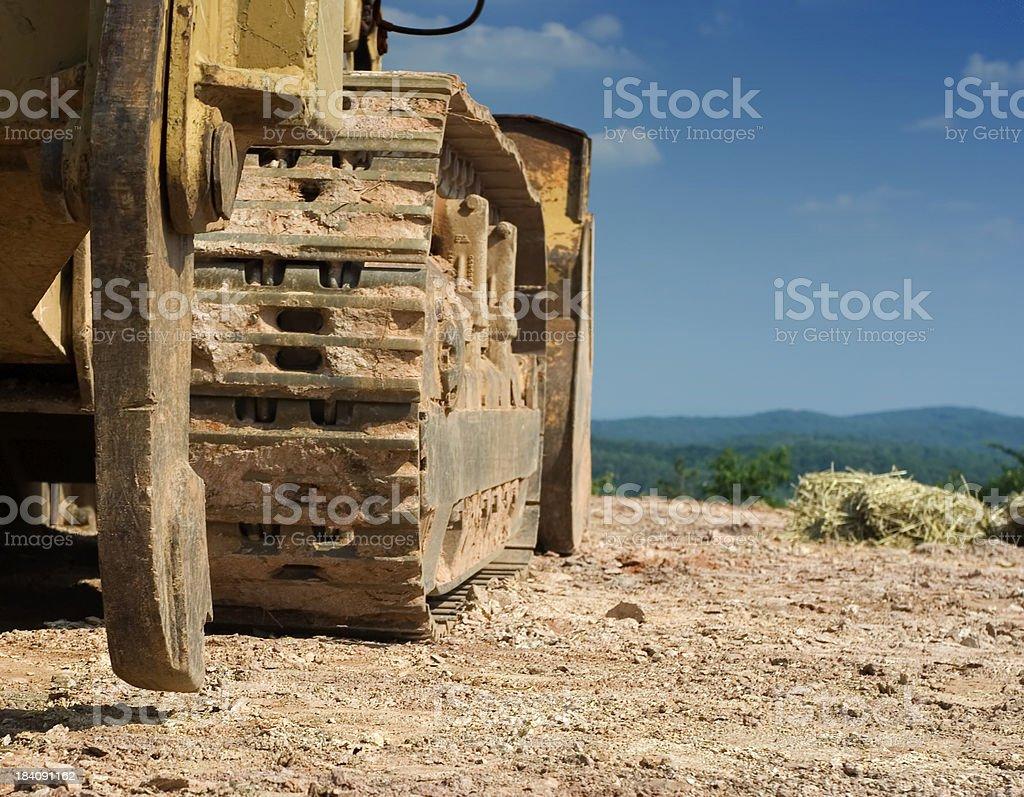 Construction equipment stock photo