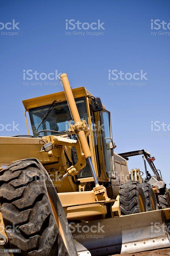 Construction Grader stock photo