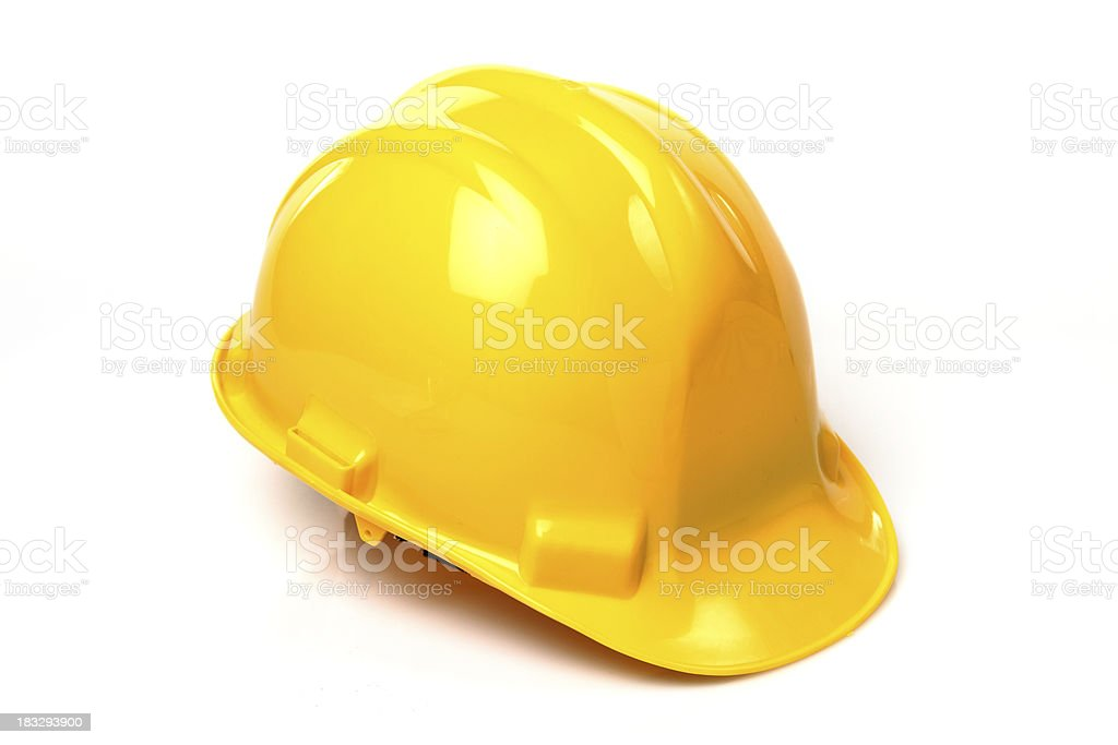Construction Hard Hat stock photo