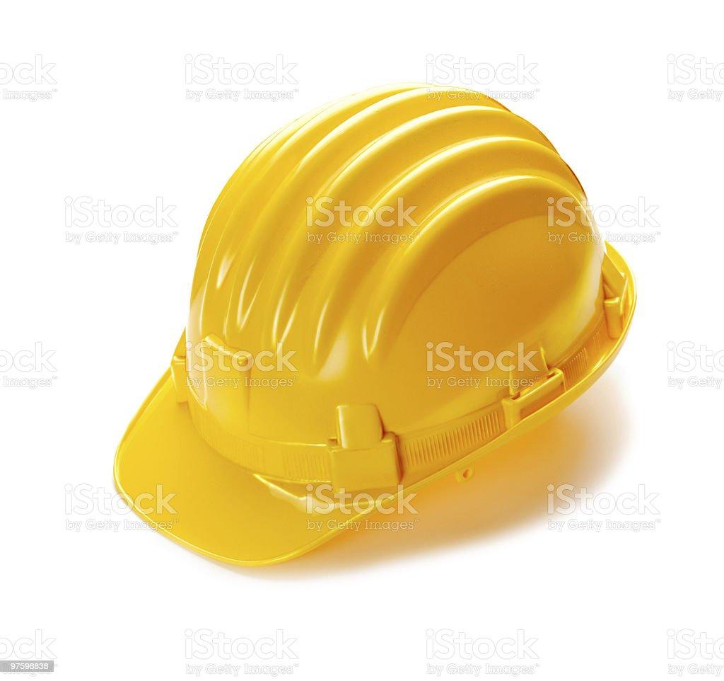 Construction Hard Hat royaltyfri bildbanksbilder