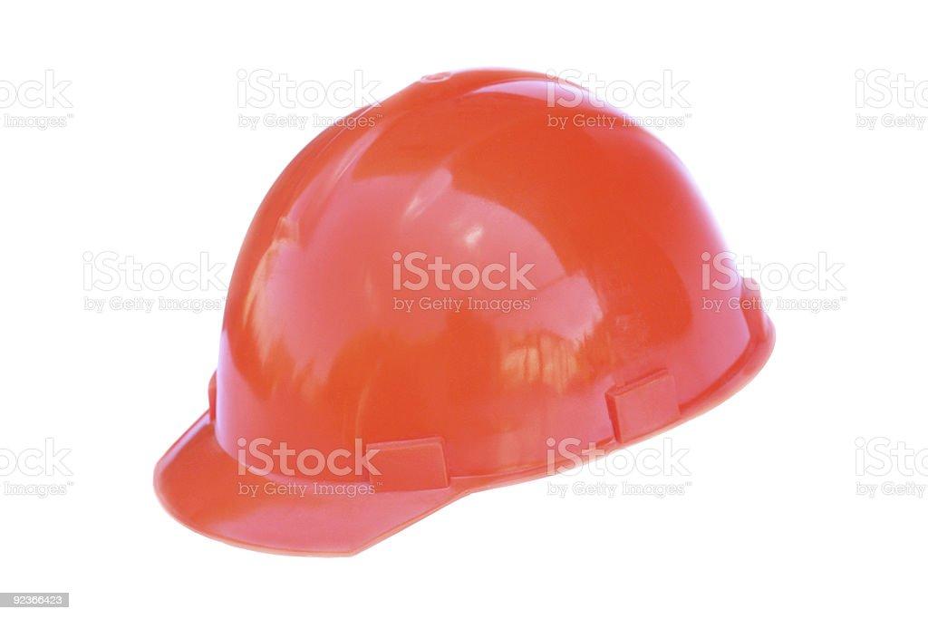 Construction hardhat royalty-free stock photo