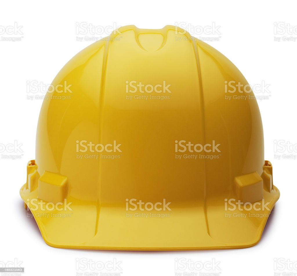 Construction Helmet on White stock photo