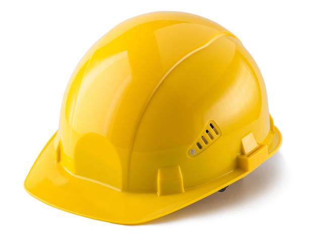 casco de construcción - accesorio de cabeza fotografías e imágenes de stock
