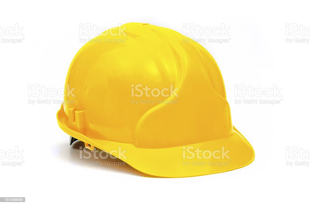 Construction Helmet stock photo