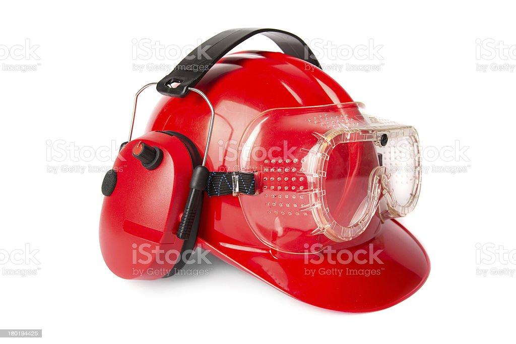 Construction helmet royalty-free stock photo