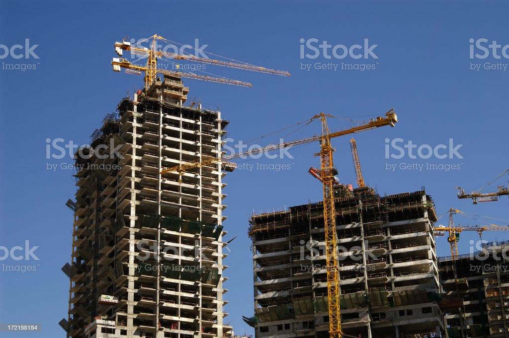 construction in progress royalty-free stock photo