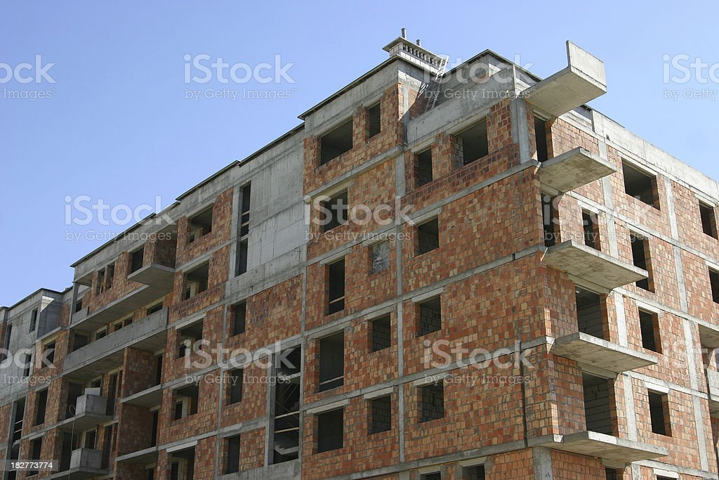 Construction in progress royalty-free stock photo