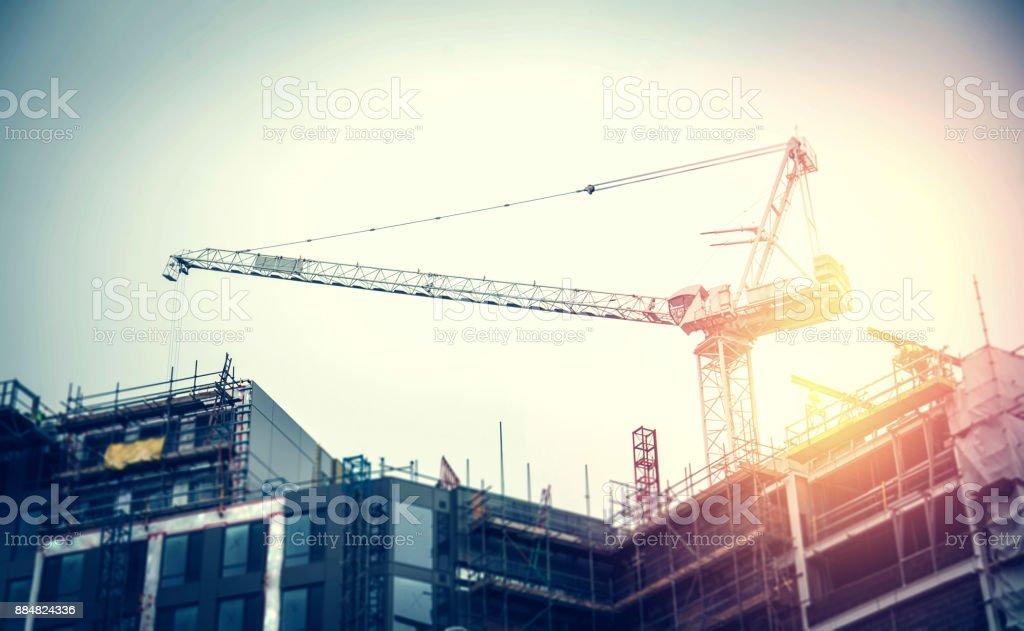 Bauarbeiten in Bearbeitung – Foto