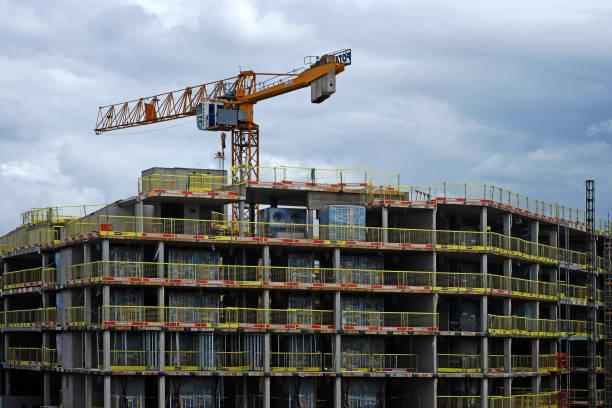 Construction dans la ville d'Oslo - Photo