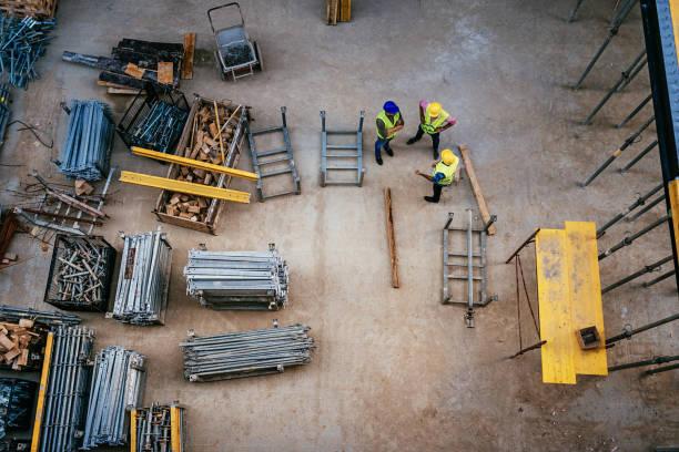 Bauwesen - Architekten und Ingenieure arbeiten zusammen – Foto