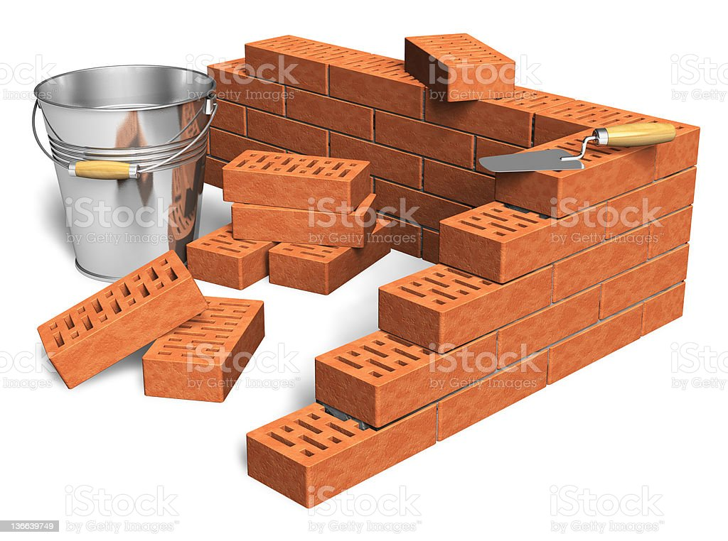 Construction industry concept royalty-free stock photo
