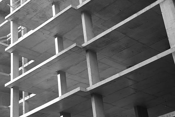 construction industry - betonbau stock-fotos und bilder