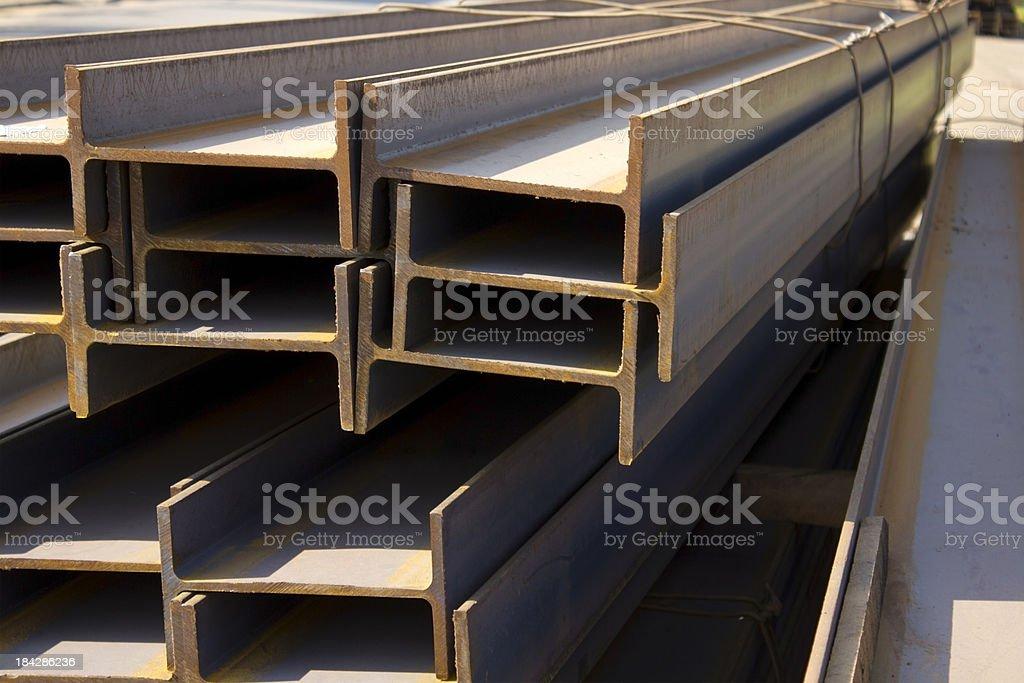 Construction iron bars royalty-free stock photo