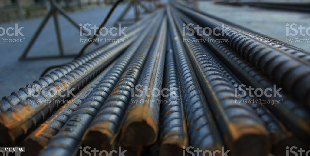 construction iron stock photo