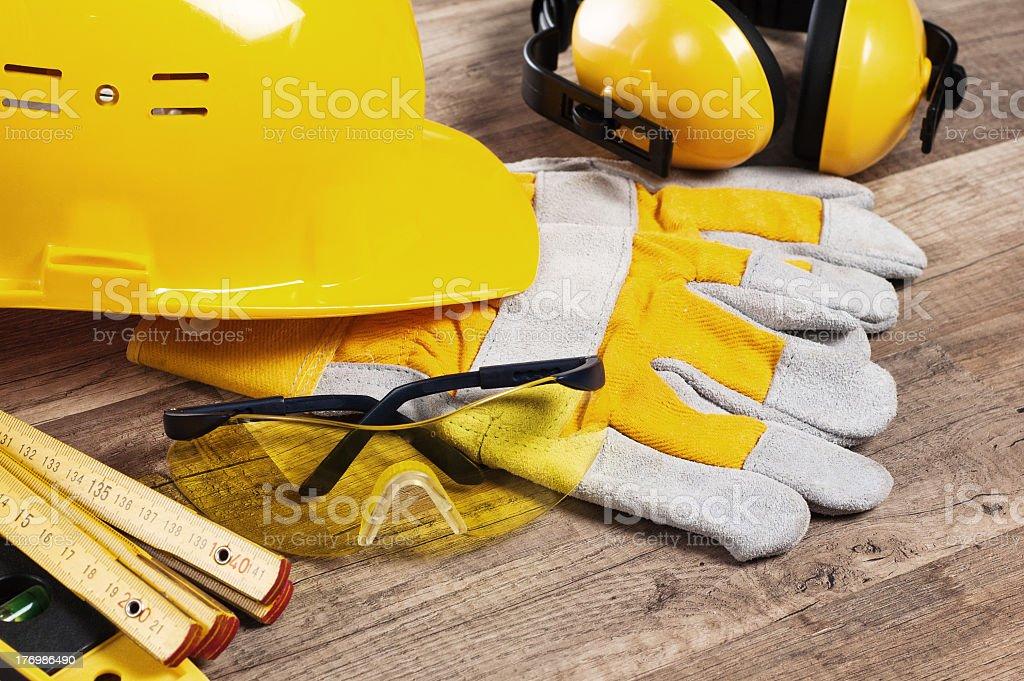 Sicherheitsausrüstung kit Nahaufnahme – Foto
