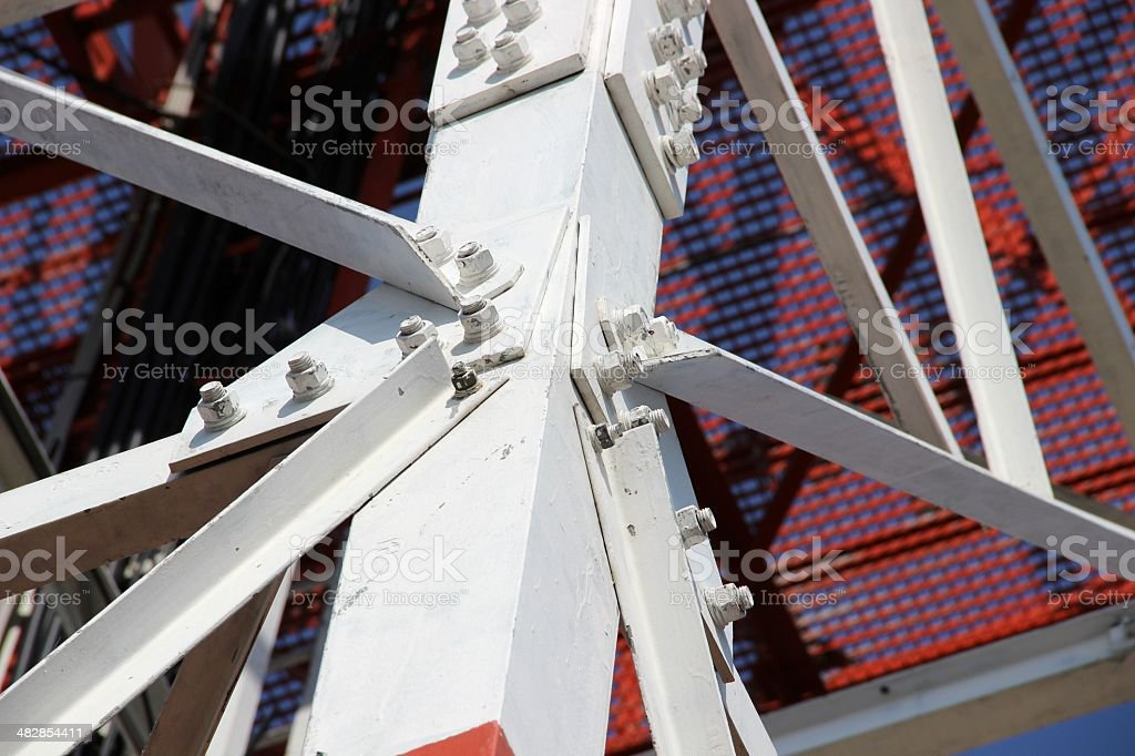 Construction joint stock photo