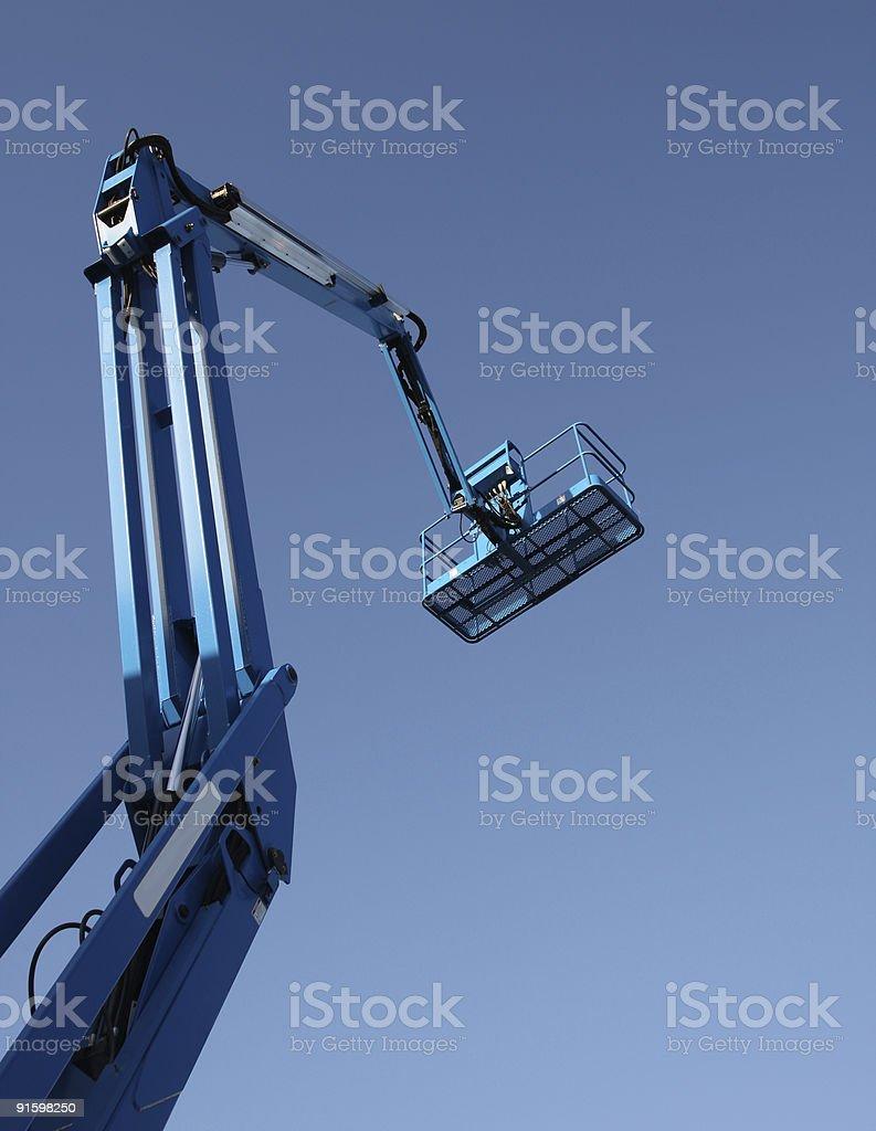 Construction Lift royalty-free stock photo