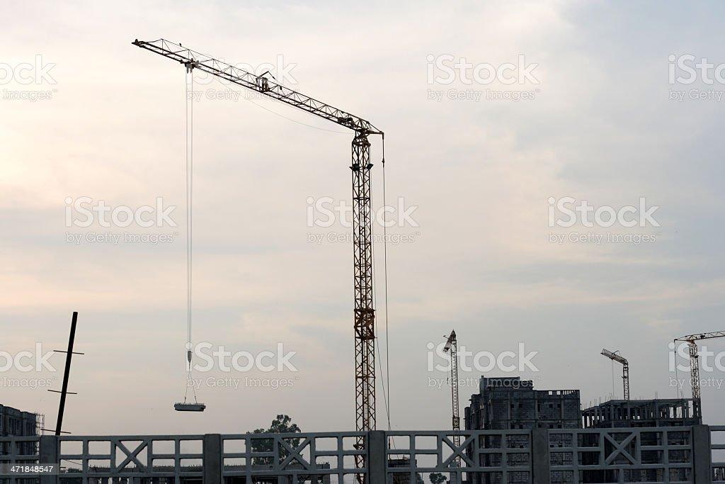 Construction Machinery royalty-free stock photo
