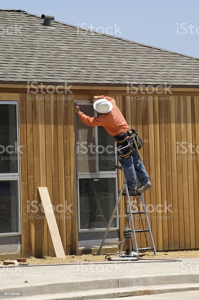 Construction Man royalty-free stock photo