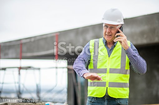 1054724700istockphoto Construction manager on phone 1178159010