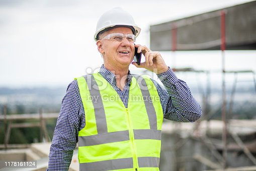 1054724700istockphoto Construction manager on phone 1178161124