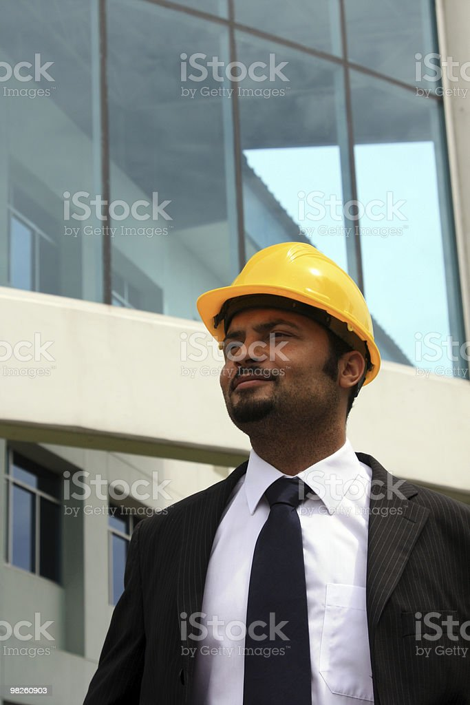 Construction Manager royalty-free stock photo