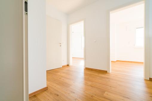 Bau Neues Haus Leer Interieur Stockfoto und mehr Bilder von Anfang
