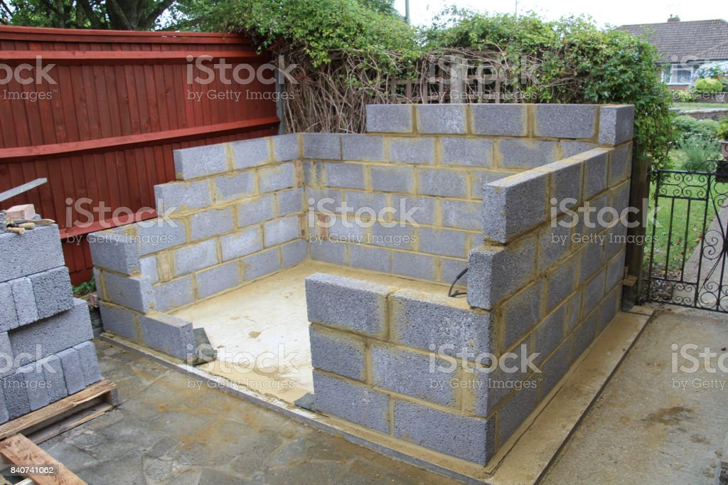 Construction Of A Garden Shed Stock Photo Download Image Now Istock