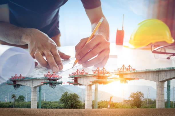 Bau von Brücken – Foto