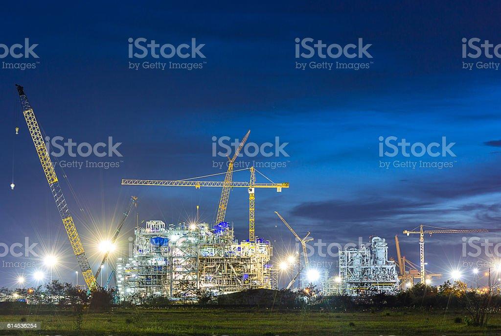 Chemische Industrie Konstruktion – Foto
