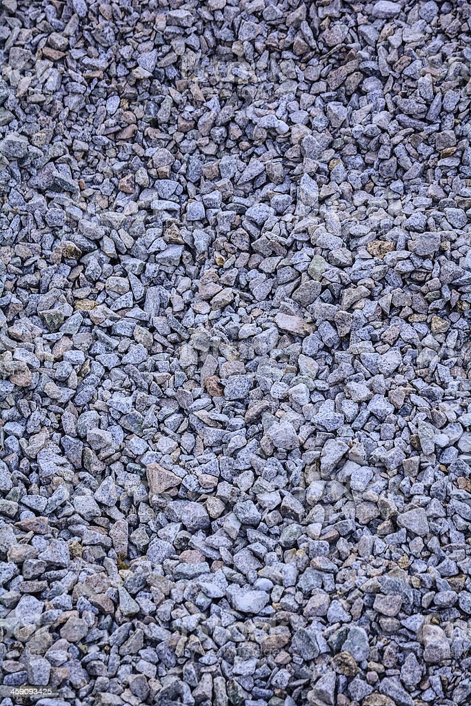 Construction of gravel royalty-free stock photo
