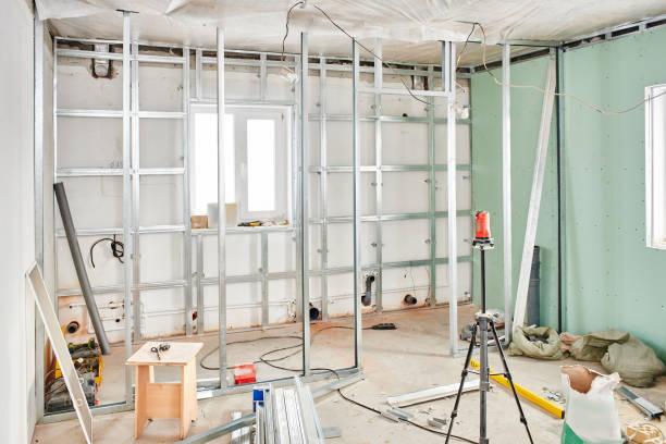 Bau des Hauses, Innenansicht – Foto