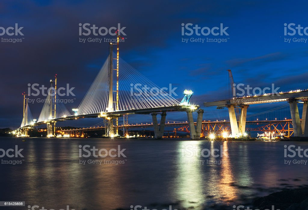 Construction of the Queensferry Crossing - almost completed – Foto