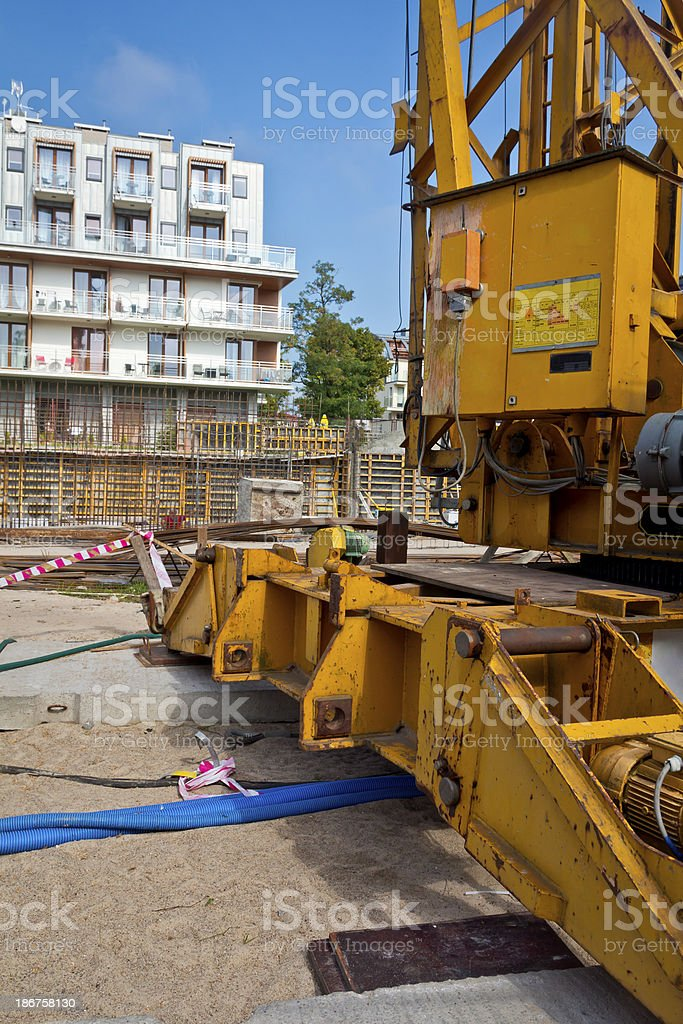 Construction - On Site royalty-free stock photo