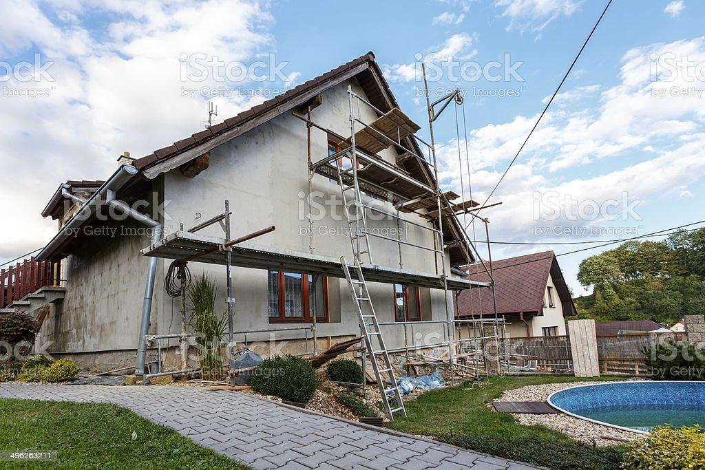 Bau oder Reparatur des ländlichen Hauses – Foto