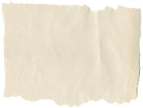 Konstruktion und Zerrissen Papier-Rand – Foto