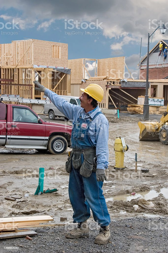 construction people 02 kasenkov. royalty-free stock photo
