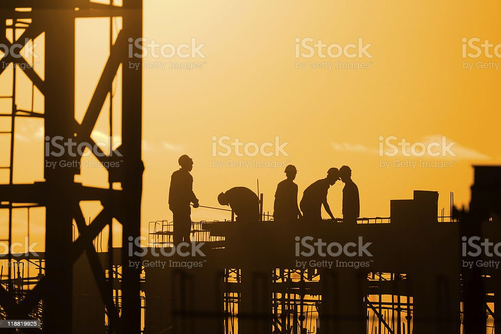 construction stock photo