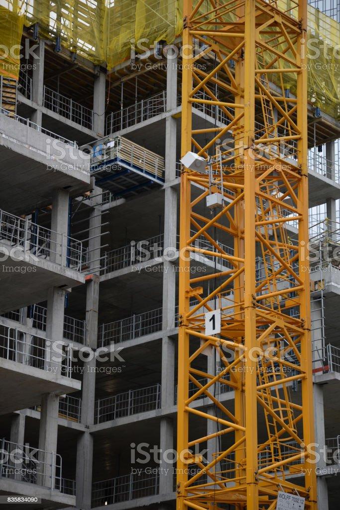 Construction stock photo