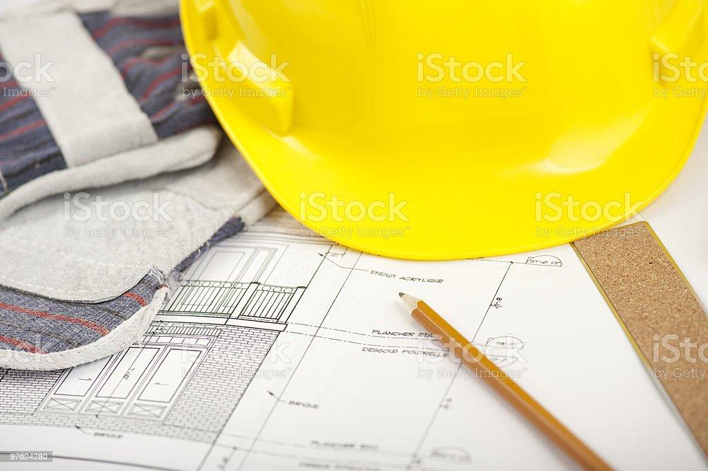 Travaux de Construction photo libre de droits