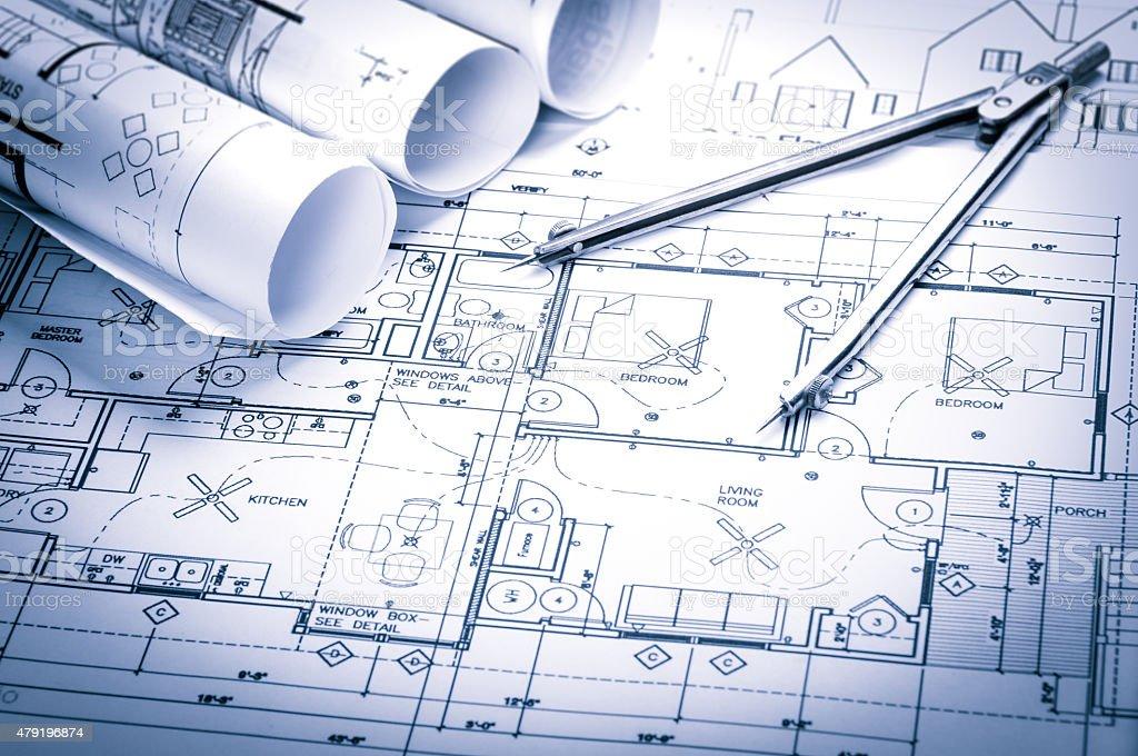 Planowania budowy rysunków – zdjęcie