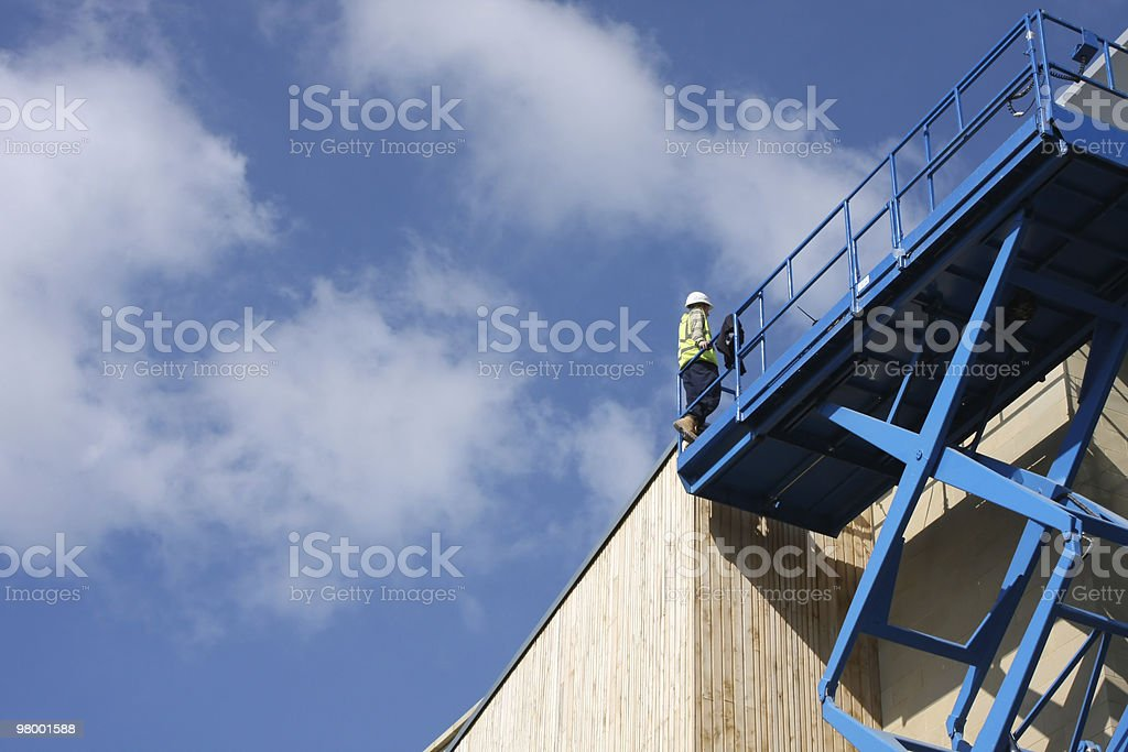 Construction Platform royalty-free stock photo