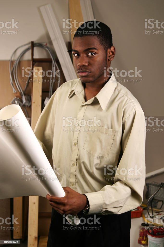 Construction Project Manager II stock photo
