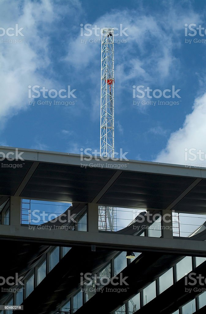 Construction project royalty-free stock photo