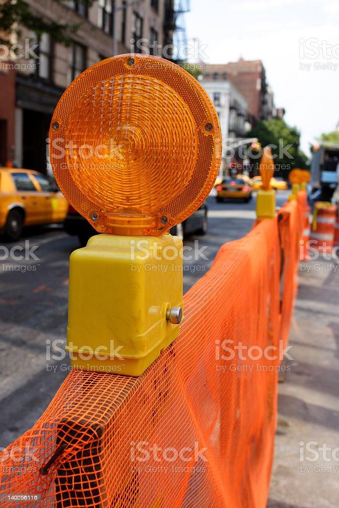 Construction Reflector royalty-free stock photo