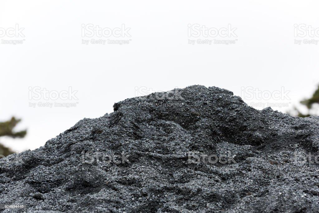 construction sand stock photo
