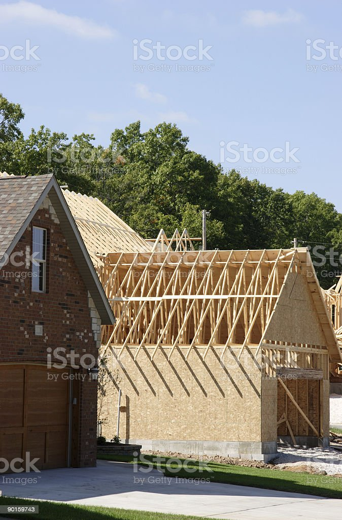 construction scene - area expansion royalty-free stock photo