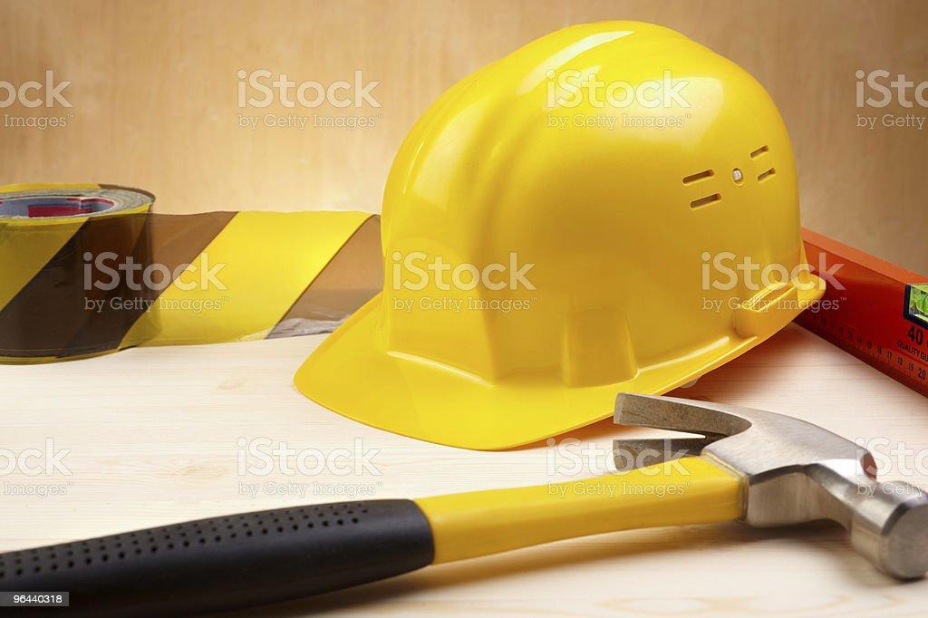 Série de construção - Foto de stock de Amarelo royalty-free