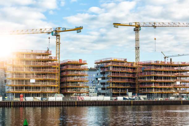 Bau-Seite in Berlin – Foto